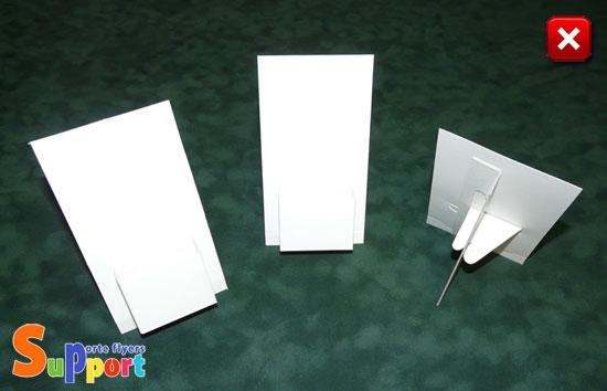 Supports En Carton Pour Cartes De Visite Commerciales Au Format 85x55mm 90x55mm 95x55mm