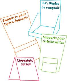 Support Carton Pour Carte De Visite Compliment Commerciale CD Porte